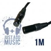 Cablu XLR Tata - XLR Mama - 1m