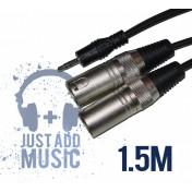 Cablu JACK 3.5mm - XLR Tata - 1.5m