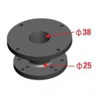 """Nexus Acoustics HA3825 Adaptor 1.5"""" la 1"""""""
