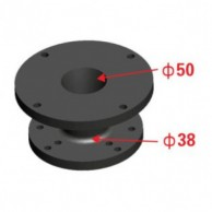 """Nexus Acoustics HA5038 Adaptor 2"""" la 1.5"""""""