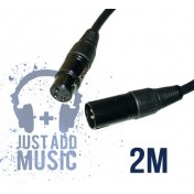 Cablu XLR Tata - XLR Mama - 2m